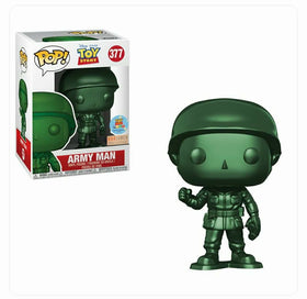 POP! Disney Toy Story Army Man (Metallic) Exclusive Funko POP
