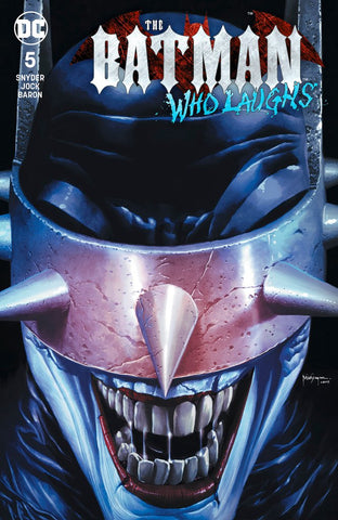 Batman Who Laughs #5 Suayan Trade Dress Exclusive