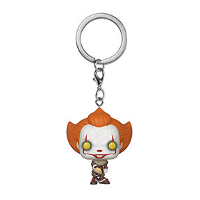 POP Keychain It Chapter Two Pennywise with Beaver Hat Keychain