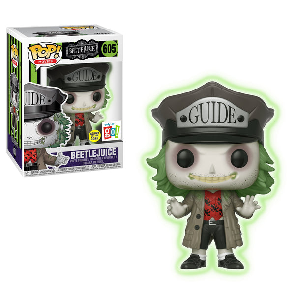 POP! Movies Beetlejuice GID Beetlejuice with Hat Exclusive Funko POP - State of Comics