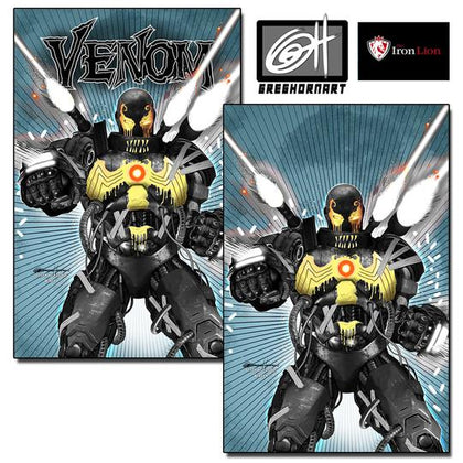 Venom #25 Greg Horn Exclusive A & B Cover Set (04/15/2020)