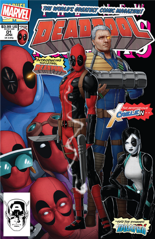 Deadpool #1 JTC Trade Dress Exclusive