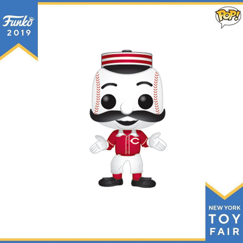 POP! Sports MLB Cincinnati Reds™ Mascot Mr. Redlegs™ Funko POP