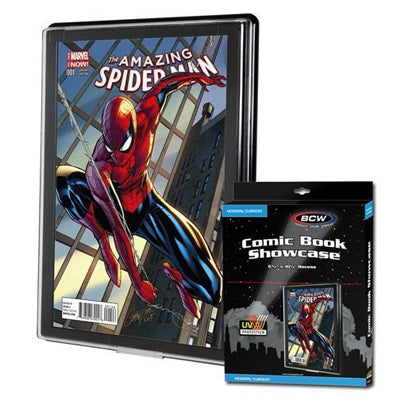 BCW Modern/Current Comic Book Showcase UV Protection