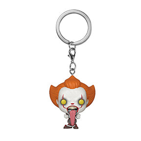 POP Keychain It Chapter Two Pennywise with Dog Tongue Keychain