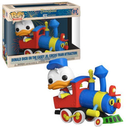 POP! Disneyland 65th Anniversary Donald Duck on the Casey Jr. Circus Train Attraction Funko POP