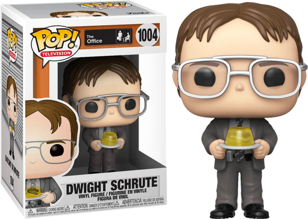 POP! Television The Office S2 Dwight w/ Jello Stapler Funko POP - State of Comics