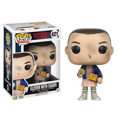 POP! Television Stranger Things Eleven with Eggos Funko POP - State of Comics