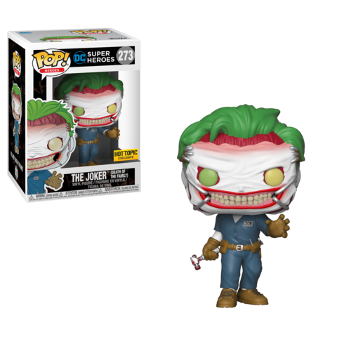 POP! DC Superheroes Joker Death of the Family Exclusive Funko Pop - State of Comics