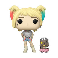 POP! DC Heroes Birds of Prey Harley Quinn and Beaver Exclusive Funko POP