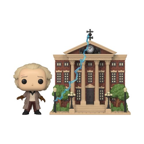 POP! Town Back to the Future Doc w/ Clock Tower Funko POP - State of Comics