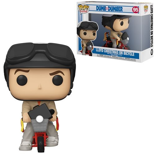 POP! Movies Dumb & Dumber Casual Lloyd on Bicycle Funko POP - State of Comics