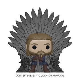 POP! Television Game of Thrones Ned Stark on Throne Deluxe Pop! Vinyl Figure