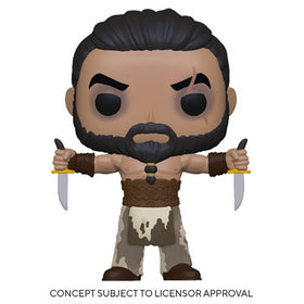 POP! Television Game of Thrones Khal Drogo with Daggers Vinyl Figure
