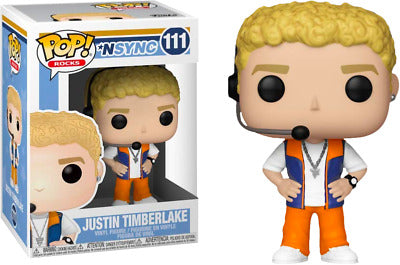 POP! Rocks Nsync Justin Timberlake Funko POP