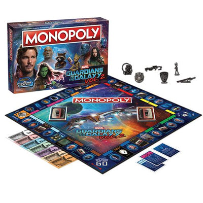 Guardians of the Galaxy Monopoly