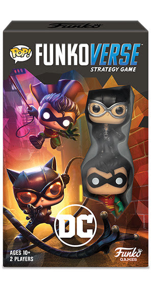 Funkoverse DC 101 Strategy Game Expansion
