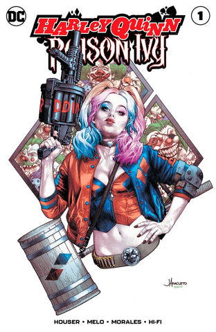 Harley Quinn & Poison Ivy #1 Anacleto Trade Dress Exclusive