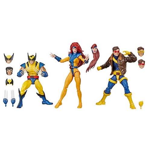 Marvel Legends X-Men Jean Grey, Cyclops, and Wolverine 6-Inch Action Figure 3-Pack - Exclusive - State of Comics
