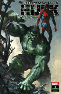 Immortal Hulk #2 Gabriele Dell'Otto Trade Dress Exclusive