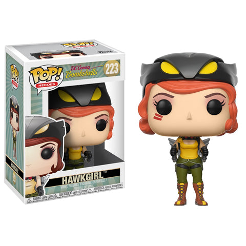 POP! Heroes Bombshells Hawkgirl Funko POP - State of Comics