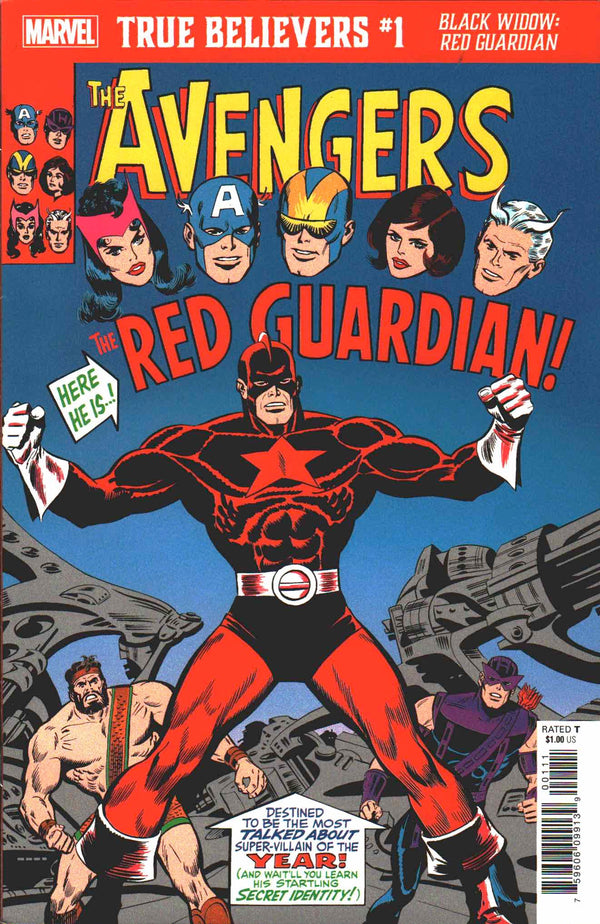 True Believers Black Widow Red Guardian #1 - State of Comics