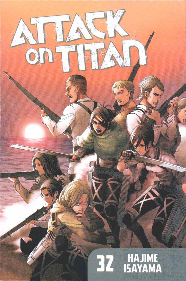 Attack on Titan Vol 32 - State of Comics