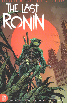 Tmnt The Last Ronin #2 (Of 5) Brian Level Exclusive Trade Dress