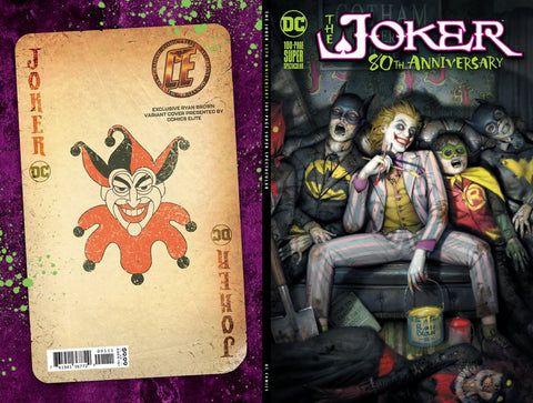 06/17/2020 Joker 80th Anniv Ryan Brown Exclusive Cvr A