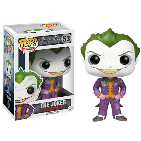 POP! Heroes Arkham Asylum The Joker Funko POP