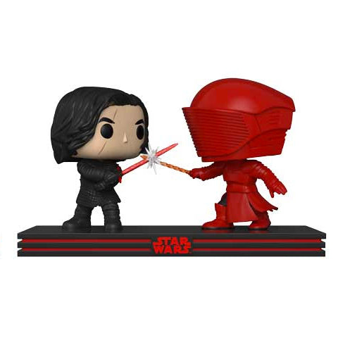 POP! Movie Moments - Star Wars The Last Jedi - Kylo vs Praetorian Guard