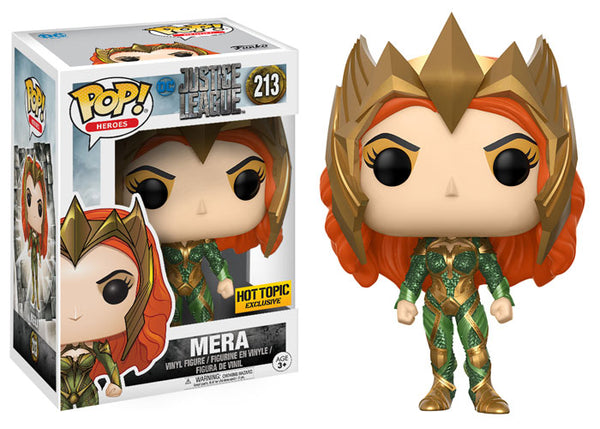 POP DC Heroes Aquaman Mera Funko POP - State of Comics