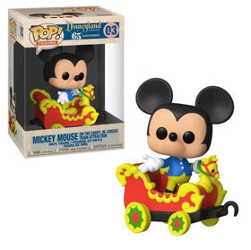 POP! Disneyland 65th Anniversary Mickey Mouse on the Casey Jr. Circus Train Attraction Funko POP