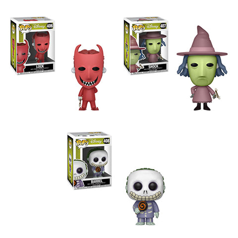 POP Disney - Nightmare Before Christmas - Bundle