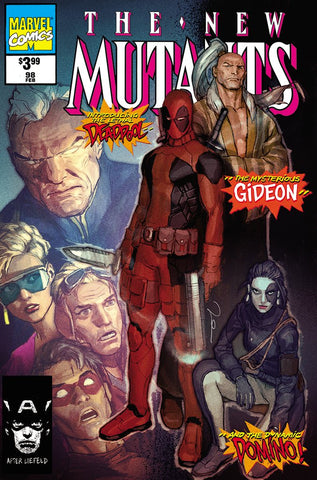 New Mutants #98 Facsimile Parel Trade Dress Exclusive