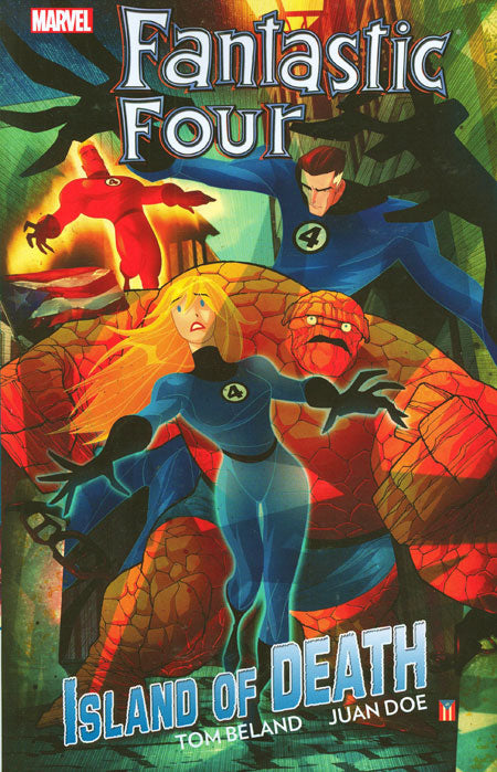 Fantastic Four Island of Death TP - State of Comics