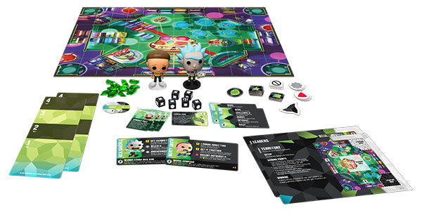 Funkoverse Rick and Morty 100 Strategy Game - State of Comics