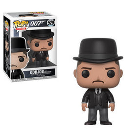 POP Movies James Bond Oddjob Funko POP (Damaged Box 9/10)