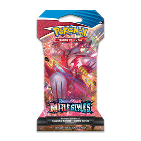 Pokemon Sword & Shield Battle Styles Sleeved Booster Pack