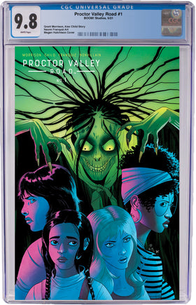 Proctor Valley Road #1 Hutchison Exclusive Cover