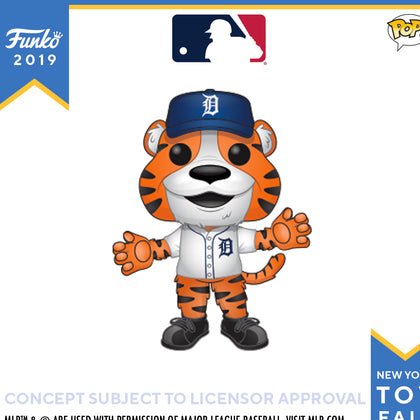 POP! Sports MLB Detroit Tigers Mascot Paws Funko POP