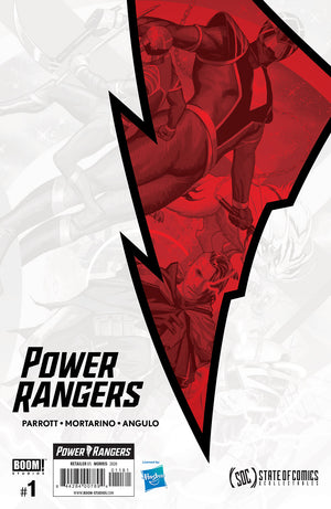 Power Rangers #1 Steve Morris Exclusive Connecting Cover