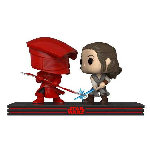 POP! Movie Moments - Star Wars The Last Jedi - Rey vs Praetorian Guard