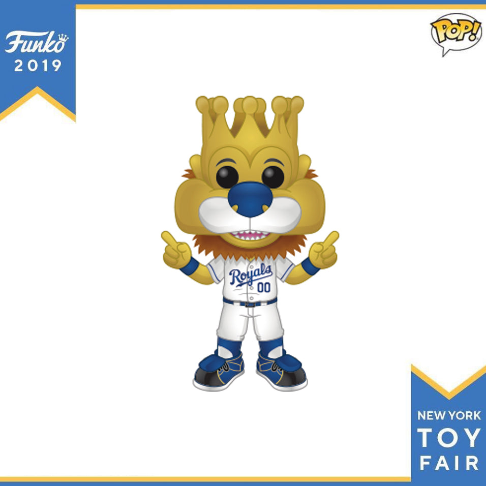 POP! Sports MLB Kansas City Royals™ Mascot Sluggerrr™ Funko POP