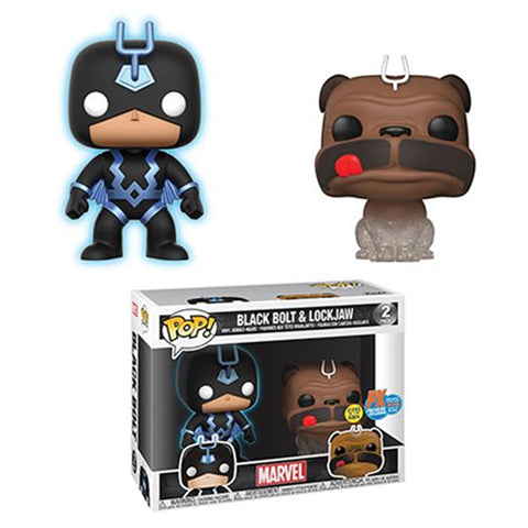 POP! Marvel - SDCC Exclusive - Black Bolt & Lockjaw
