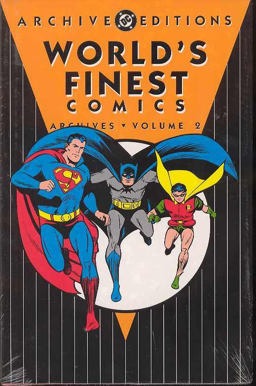 Worlds Finest Archives HC Vol 02 - State of Comics