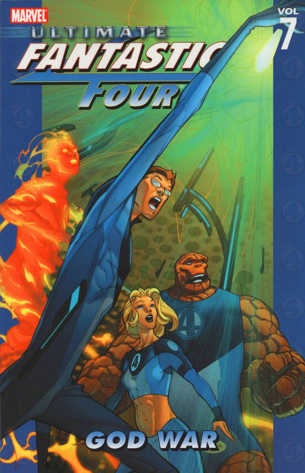 Ultimate Fantastic Four Vol 07 God War TP - State of Comics