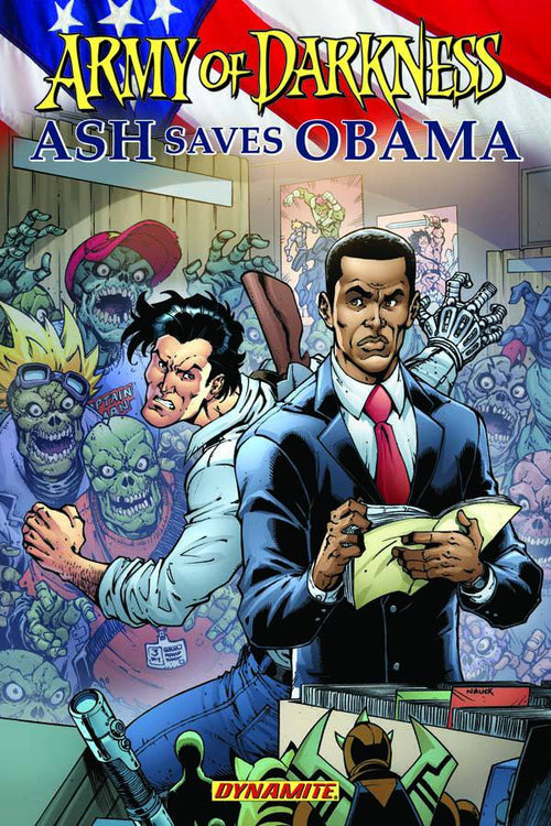 Army of Darkness Ash Saves Obama TP - State of Comics