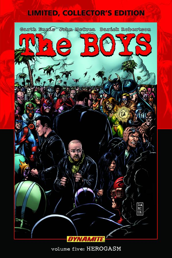 The Boys HC Ltd Edition Vol 5 Herogasm - State of Comics