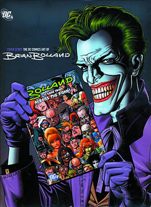 Cover Story DC Comics Art of Brian Bolland HC - State of Comics